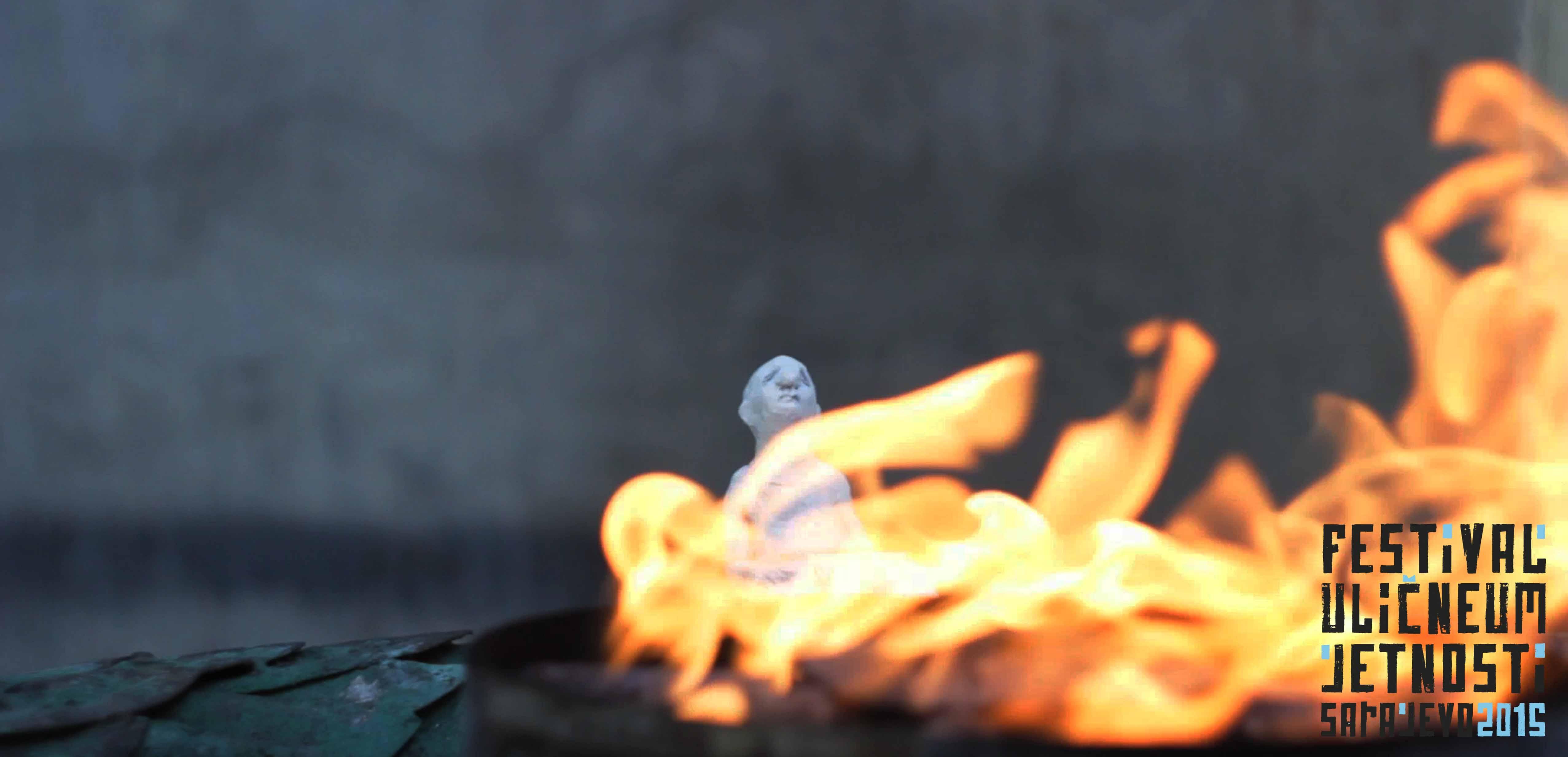Everyman gleda u Vječnu vatru, Titova